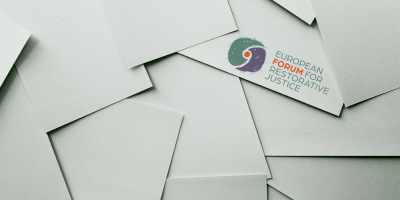 Envelopes with an EFRJ logo