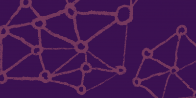 Purple and violet network