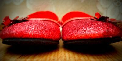 Red shoes by lilivanili on Flickr