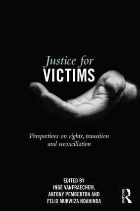 Cover of Justice for victims book