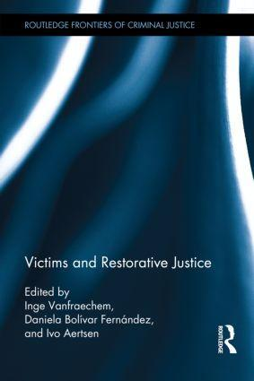Cover Victims and Restorative Justice book
