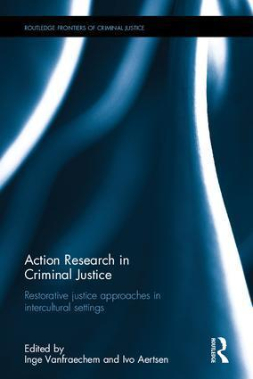 Cover of Action research in Criminal Justice book