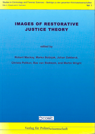 Images of restorative justice theory cover book