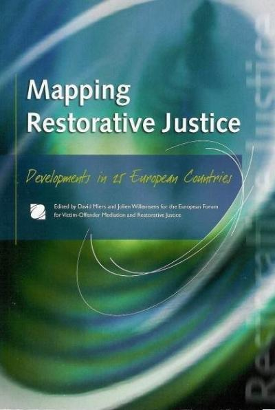 Mapping Restorative Justice cover book