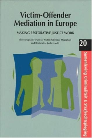 Victim-Offender Mediation in Europe book cover