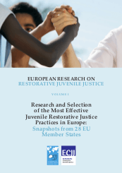 European research restorative juvenile justice cover