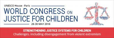 World Congress on justice for children logo