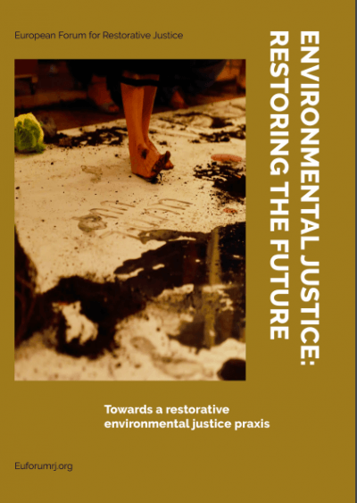 Booklet cover page Environmental Justice RJ week 2019 EFRJ