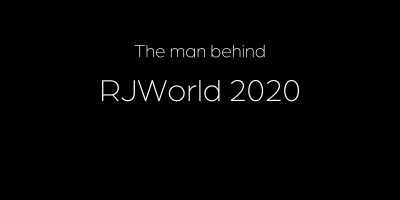 The man behind RJWorld 2020